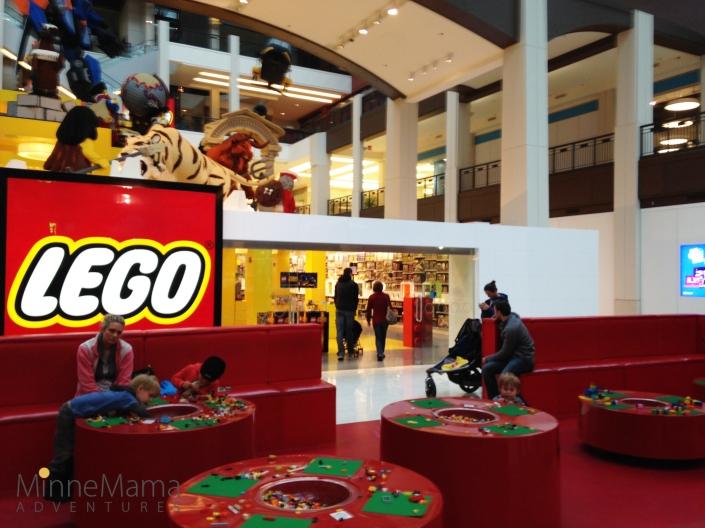 mall of america lego land