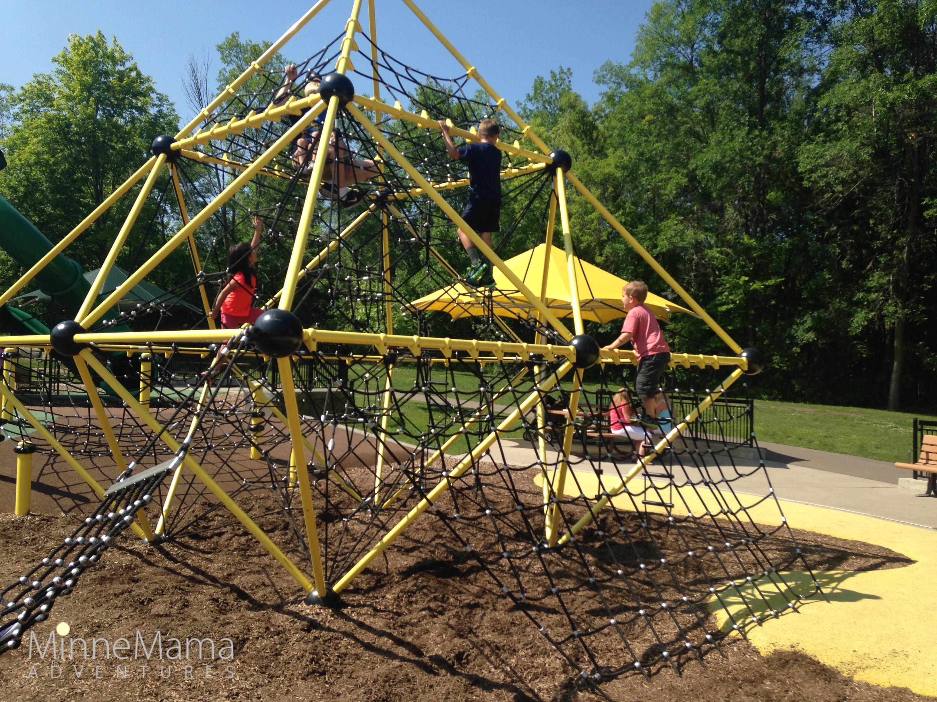 Elm Creek Park Reserve An enormous play area for kids